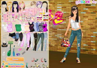 Онлайн игры для девочек одень куклу