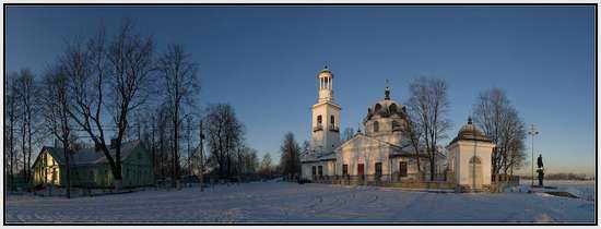 Усть-Ижора Церковь, Санкт-Петербург, Россия
