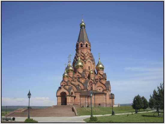 Собор в г. Лесосибирск, Россия