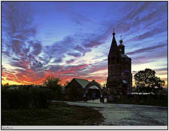 Церковь в г. Венев, Россия