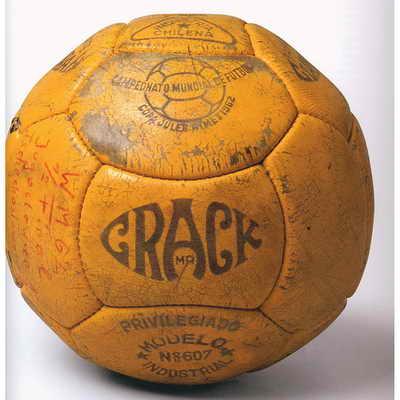 Crack, официальный мяч матча Чемпионата мира по футболу 1962 года в Чили
