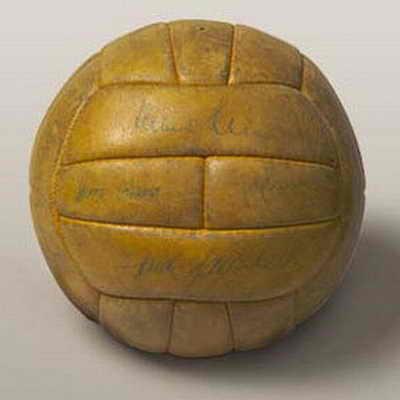 Официальный мяч матча Чемпионата мира по футболу 1958 года в Швеции