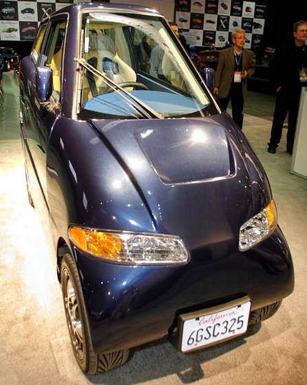 Электрокар Tango от корпорации Commuter Cars Corporation