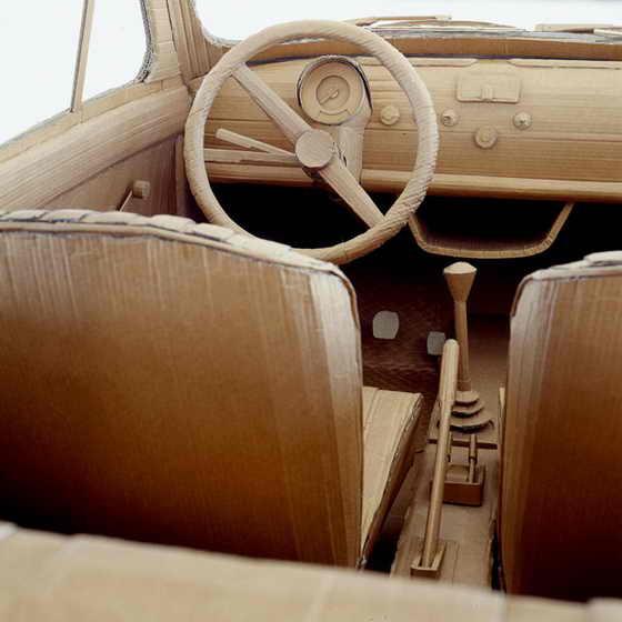 Fiat 500. Интерьер
