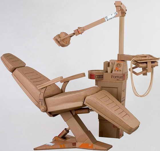 Невероятно, но факт: произведение искусства - стоматологическое кресло