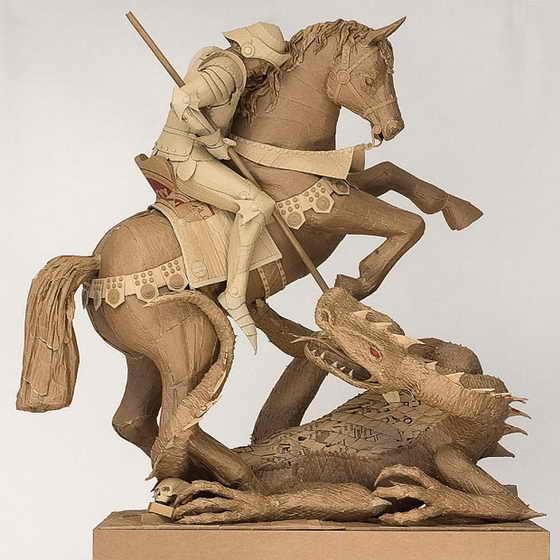 Религиозная тематика: Святой Георгий, убивающий дракона