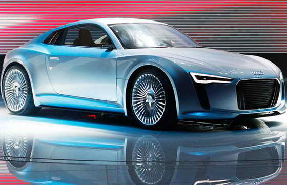 Концепт кар Audi e-tron