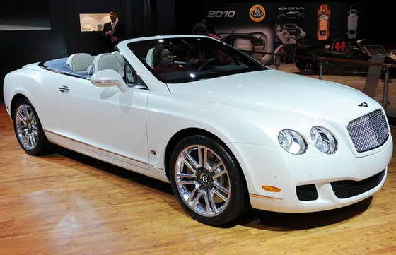 Кабриолет Bentley Continental GTC серии 51