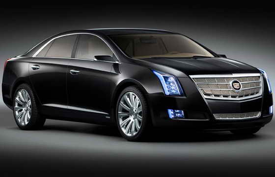 Концепт кар Cadillac XTS Platinum