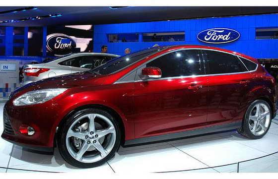 Новый пятидверный Ford Focus