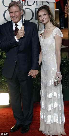 Одна из самых успешных пар в Голливвуде: Харрисон Форд и Калиста Флокхарт