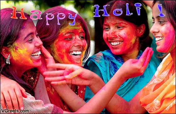 Holi - индийский Праздник Цвета