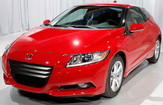Новая Honda CR-Z