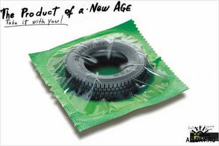колесо презерватив