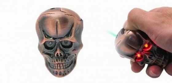 Зажигалка-череп