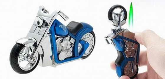 Зажигалка-мотоцикл