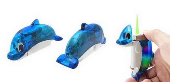 Зажигалка-дельфин