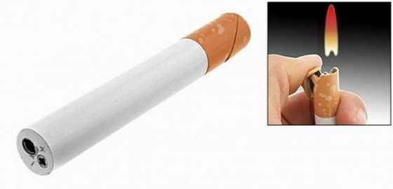 Зажигалка-сигарета