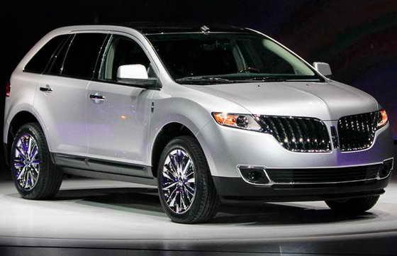 Новый Lincoln MKX 2011 года