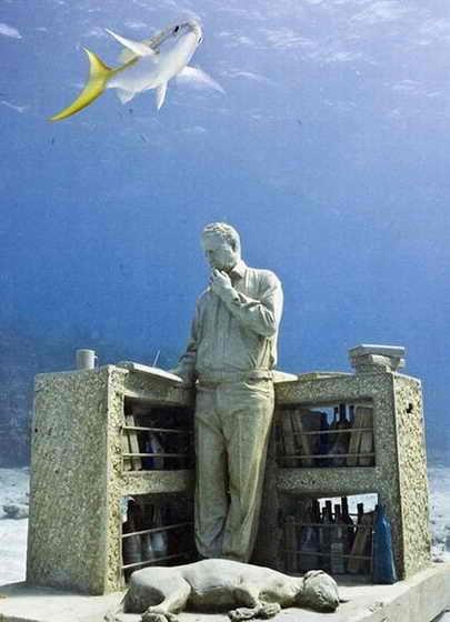 Самый большой подводный музей в мире