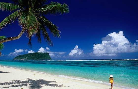 Пляж в Самоа