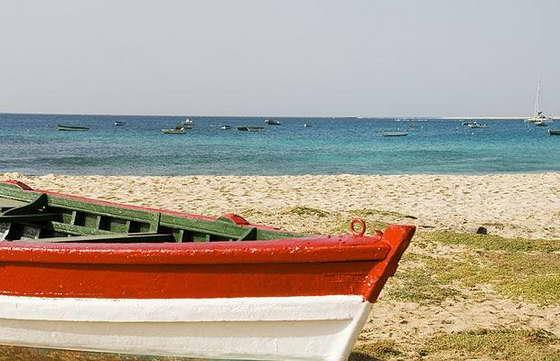 Пляж в Кабо-Верде