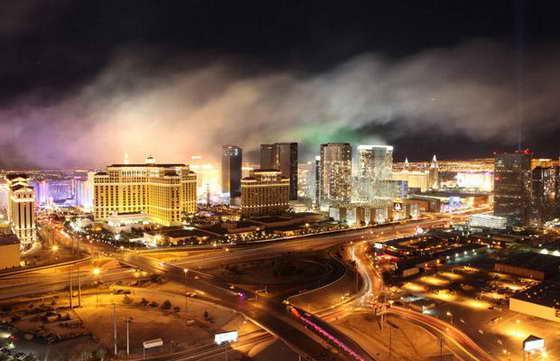 фейерверк в Лас Вегасе