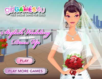 Играть в игры одень невесту