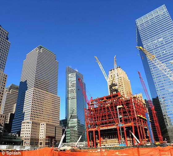 Новый Всемирный торговый центр на месте крушения Торгового Центра