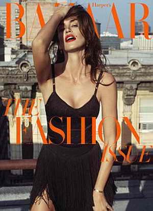 Синди Кроуфорд для Harper's Bazaar