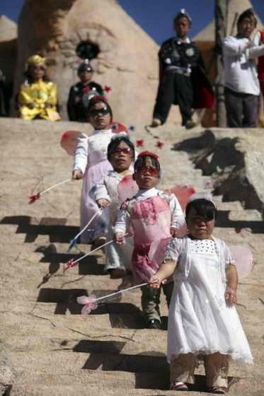 Королевство карликов в Китае