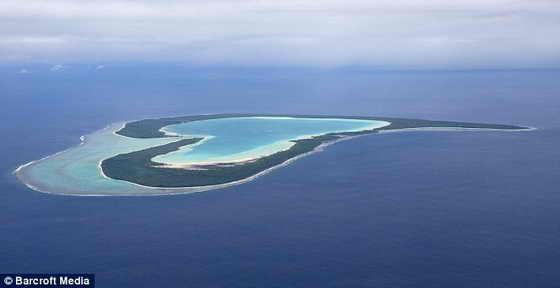 Волна любви: Остров Тупаи во Французской Полинезии