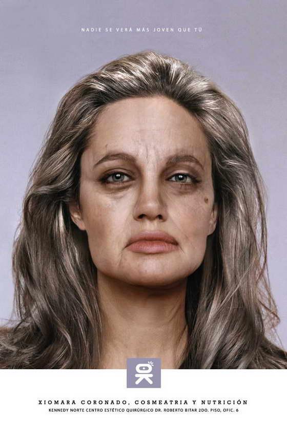 Реклама Анджелины Джоли