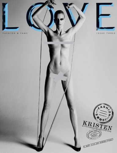 Кристен МакМенами для журнала LOVE