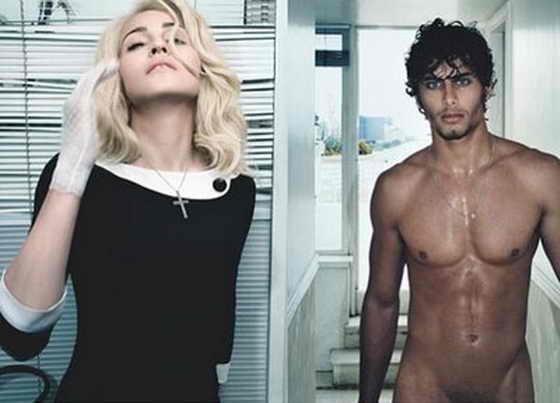 Мадонна и Хесус Лус для журнала W