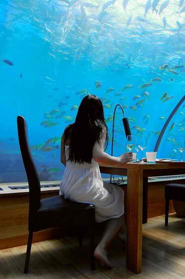"""Ресторан на Мальдивах """"Итха"""""""