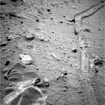 Фото Марса от исследовательского марсохода Спирит