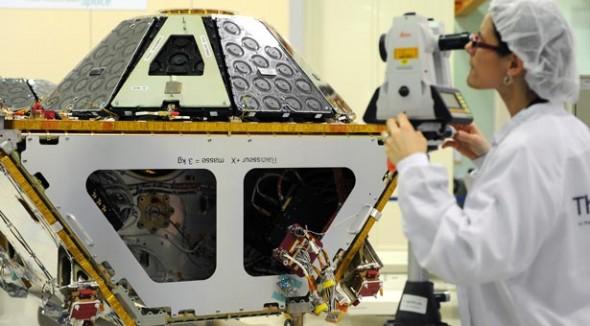 Проверка готовности спутника связи