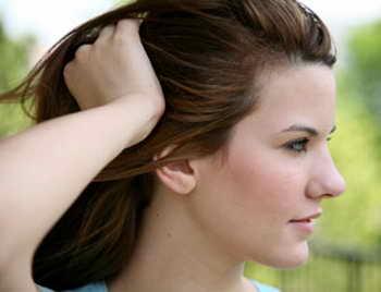 Красивые волосы без перхоти