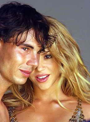 Шакира и Рафаэль Надаль