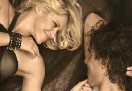 """Шакира и Рафаэль Надаль в клипе """"Gypsy"""""""
