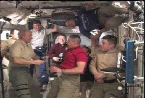 Встреча на борту орбитальной станции