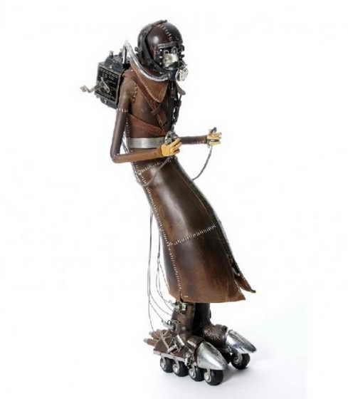 Скульптуры от Stephane Halleux