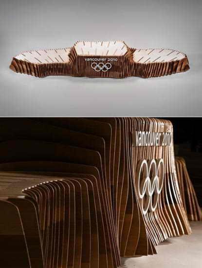 Пьедесталы для Зимних Олимпийских Игр в Ванкувере