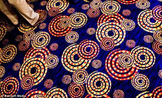 Необычные ковры в Лас-Вегасе