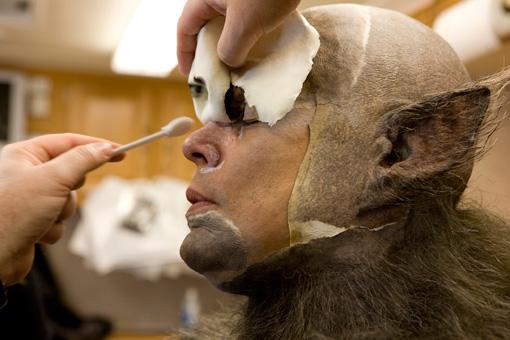 Первый этап превращения в человека-волка