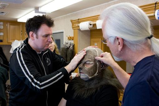 Второй этап превращения в человека-волка