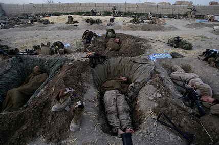 Морские пехотинцы США в Афганистане