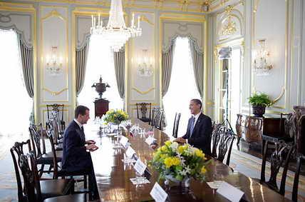 Встреча 2-х президентов Дмитрия Медведева, Россия и Барака Обамы