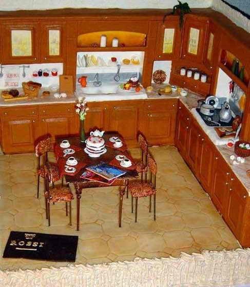 Торт - кухня для ребенка
